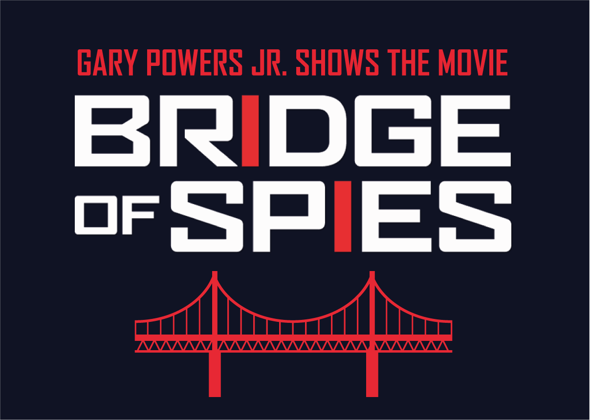 Francis Gary Powers Jr. shows the movie Bridge of Spies